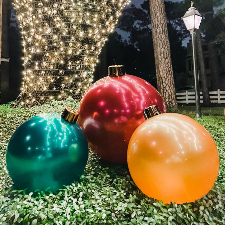Holiball Inflatable Ornament